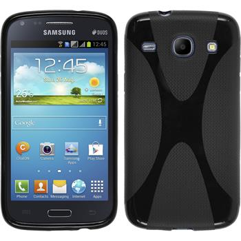 Silicone Case for Samsung Galaxy Core X-Style black