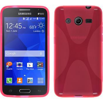 Silikon Hülle Galaxy Core 2 X-Style pink