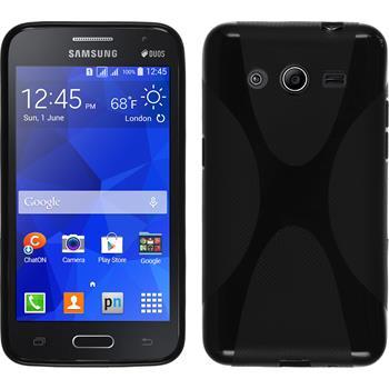 Silikon Hülle Galaxy Core 2 X-Style schwarz