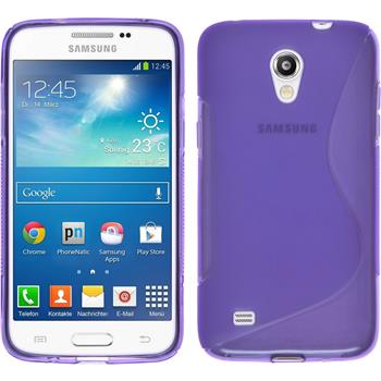 Silicone Case for Samsung Galaxy Core Lite S-Style purple
