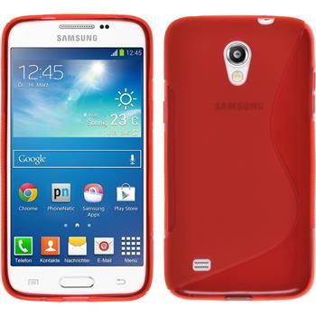 Silikon Hülle Galaxy Core Lite S-Style rot