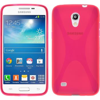 Silikon Hülle Galaxy Core Lite X-Style pink