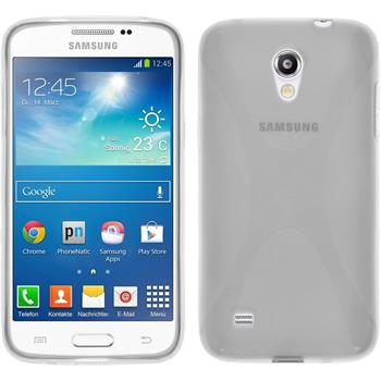 Silicone Case for Samsung Galaxy Core Lite X-Style transparent
