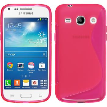 Silikon Hülle Galaxy Core Plus S-Style pink