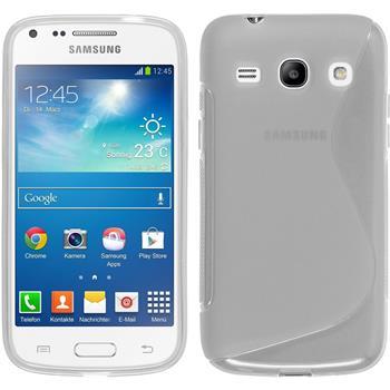 Silikonhülle für Samsung Galaxy Core Plus S-Style clear