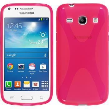 Silikon Hülle Galaxy Core Plus X-Style pink