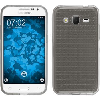 Silikon Hülle Galaxy Core Prime Iced grau