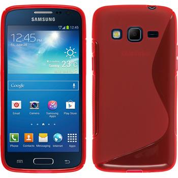 Silicone Case for Samsung Galaxy Express 2 S-Style red