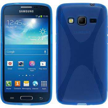 Silicone Case for Samsung Galaxy Express 2 X-Style blue