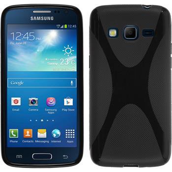 Silikon Hülle Galaxy Express 2 X-Style schwarz
