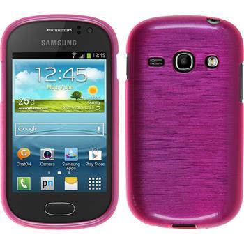 Silikon Hülle Galaxy Fame brushed pink