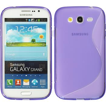 Silicone Case for Samsung Galaxy Grand S-Style purple