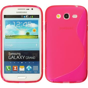 Silicone Case for Samsung Galaxy Grand S-Style hot pink