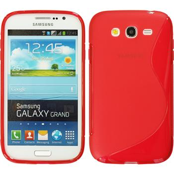 Silicone Case for Samsung Galaxy Grand S-Style red