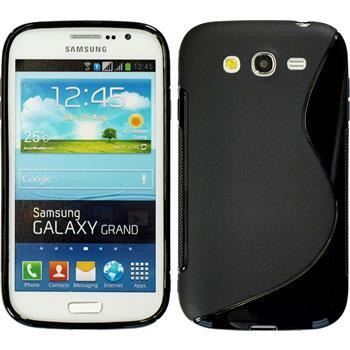 Silikon Hülle Galaxy Grand S-Style schwarz
