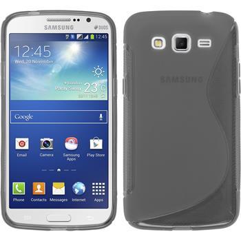 Silikonhülle für Samsung Galaxy Grand 2 S-Style grau