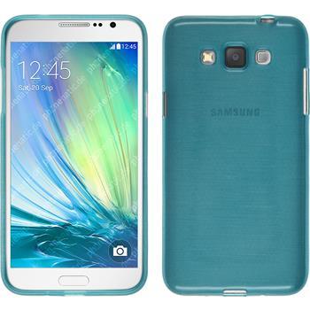 Silikon Hülle Galaxy Grand 3 brushed blau