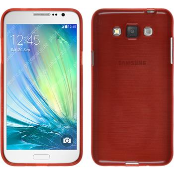 Silikon Hülle Galaxy Grand 3 brushed rot