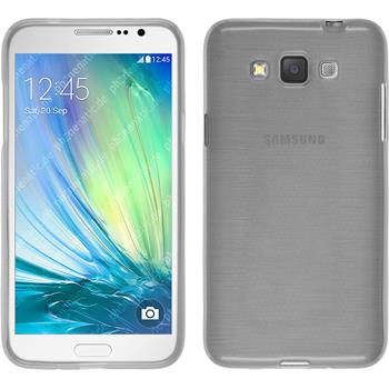 Silikon Hülle Galaxy Grand 3 brushed weiß