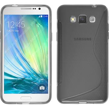 Silikon Hülle Galaxy Grand 3 S-Style grau