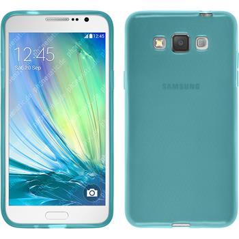 Silikonhülle für Samsung Galaxy Grand 3 transparent türkis