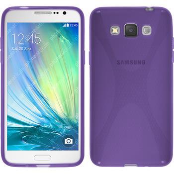 Silikon Hülle Galaxy Grand 3 X-Style lila