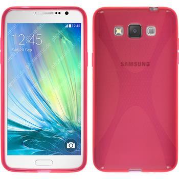 Silikonhülle für Samsung Galaxy Grand 3 X-Style pink