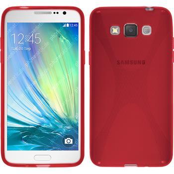 Silikon Hülle Galaxy Grand 3 X-Style rot