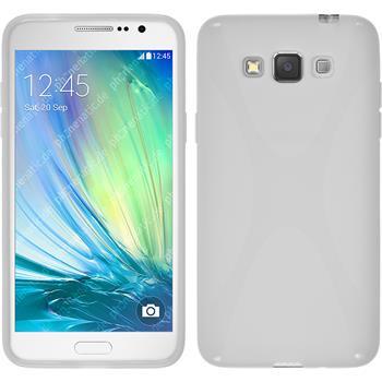 Silikon Hülle Galaxy Grand 3 X-Style weiß