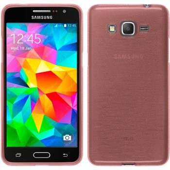 Silikon Hülle Galaxy Grand Prime brushed rosa