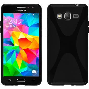 Silikon Hülle Galaxy Grand Prime X-Style schwarz