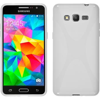 Silikonhülle für Samsung Galaxy Grand Prime X-Style weiß