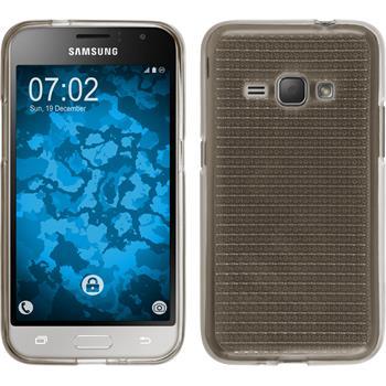 Silikon Hülle Galaxy J1 (2016) J120 Iced grau
