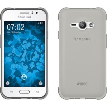 Silikon Hülle Galaxy J1 ACE Slimcase grau