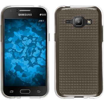 Silikon Hülle Galaxy J1 (J100 2015) Iced grau