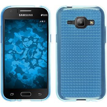Silikon Hülle Galaxy J1 (J100 2015) Iced hellblau