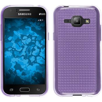 Silikon Hülle Galaxy J1 (J100 2015) Iced lila