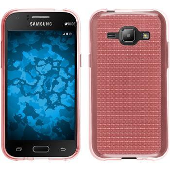 Silikon Hülle Galaxy J1 (J100 2015) Iced rosa
