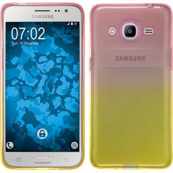 Silikonhülle für Samsung Galaxy J2 (2016) Ombrè Design:01