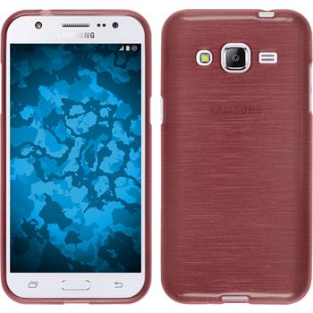 Silikon Hülle Galaxy J2 brushed rosa Case