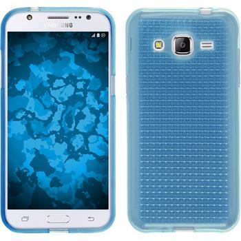 Silikon Hülle Galaxy J2 Iced hellblau