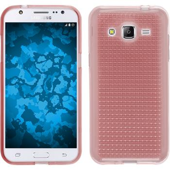 Silikon Hülle Galaxy J2 Iced rosa