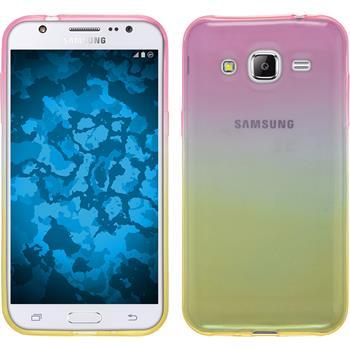 Silikonhülle für Samsung Galaxy J2 Ombrè Design:01