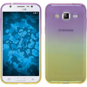 Silikon Hülle Galaxy J2 Ombrè Design:05