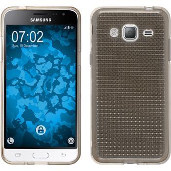 Silikon Hülle Galaxy J3 (2016) Iced grau