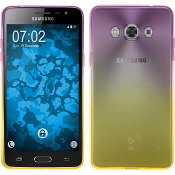 Silikon Hülle Galaxy J3 Pro Ombrè Design:05