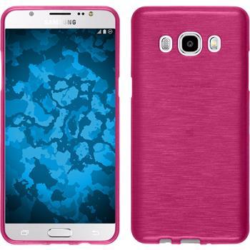 Silikonhülle für Samsung Galaxy J5 (2016) J510 brushed pink
