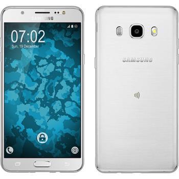 Silikonhülle für Samsung Galaxy J5 (2016) J510 360° Fullbody grau