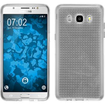 Silikon Hülle Galaxy J5 (2016) J510 Iced clear + 2 Schutzfolien