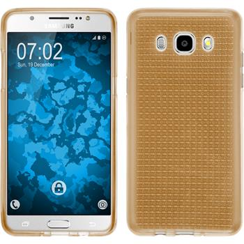 Silikon Hülle Galaxy J5 (2016) J510 Iced gold